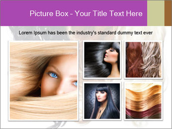 Color Palette For Hair PowerPoint Template - Slide 19