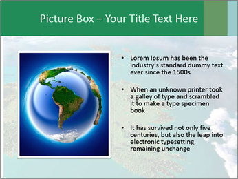 Continent Aerial View PowerPoint Templates - Slide 13