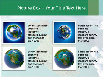 Continent Aerial View PowerPoint Templates - Slide 14