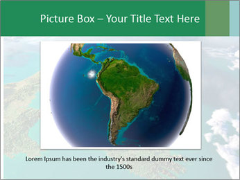 Continent Aerial View PowerPoint Templates - Slide 15