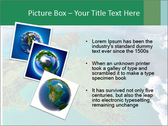 Continent Aerial View PowerPoint Templates - Slide 17