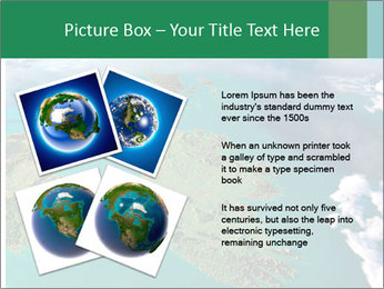 Continent Aerial View PowerPoint Templates - Slide 23