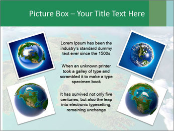 Continent Aerial View PowerPoint Templates - Slide 24