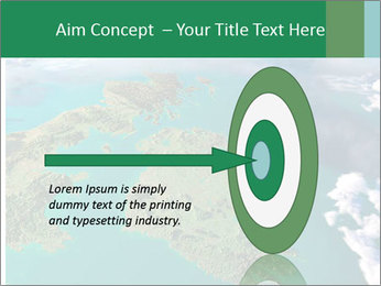 Continent Aerial View PowerPoint Templates - Slide 83