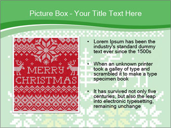 Christmas Sweater Ornament PowerPoint Template - Slide 13