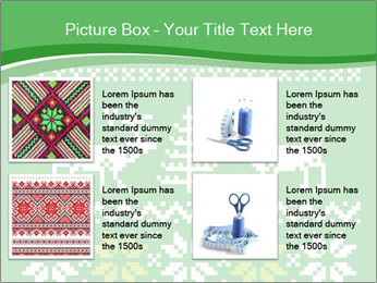 Christmas Sweater Ornament PowerPoint Template - Slide 14