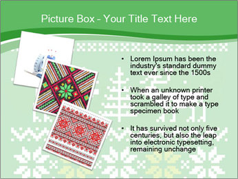 Christmas Sweater Ornament PowerPoint Template - Slide 17