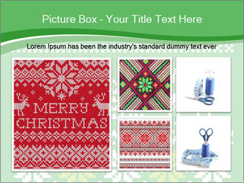 Christmas Sweater Ornament PowerPoint Template - Slide 19