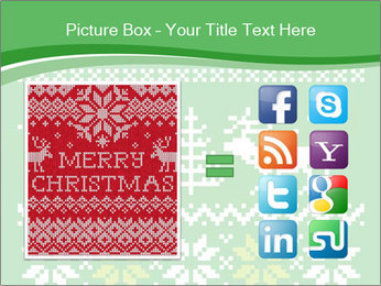 Christmas Sweater Ornament PowerPoint Template - Slide 21