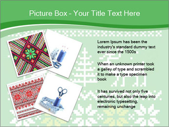 Christmas Sweater Ornament PowerPoint Template - Slide 23