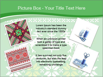 Christmas Sweater Ornament PowerPoint Template - Slide 24