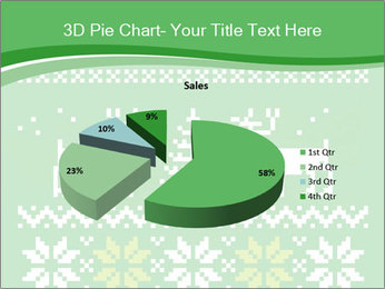 Christmas Sweater Ornament PowerPoint Template - Slide 35