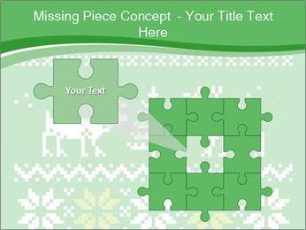 Christmas Sweater Ornament PowerPoint Template - Slide 45