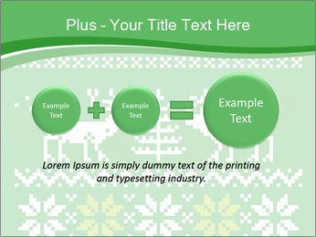 Christmas Sweater Ornament PowerPoint Template - Slide 75