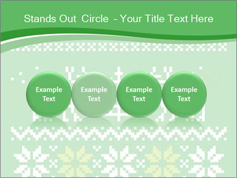 Christmas Sweater Ornament PowerPoint Template - Slide 76