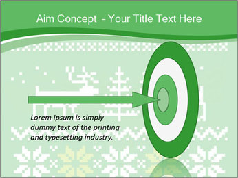Christmas Sweater Ornament PowerPoint Template - Slide 83