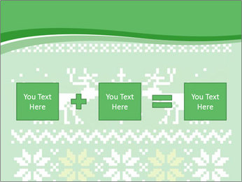 Christmas Sweater Ornament PowerPoint Template - Slide 95