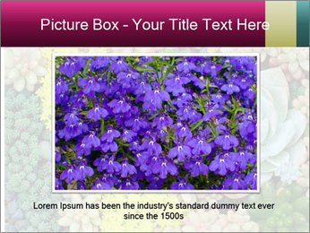 Botanical Composition PowerPoint Template - Slide 16