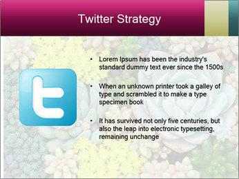 Botanical Composition PowerPoint Templates - Slide 9