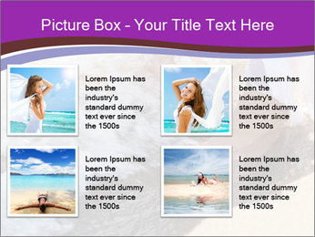 Feet In The Sea PowerPoint Templates - Slide 14