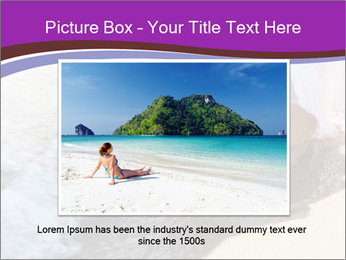 Feet In The Sea PowerPoint Template - Slide 15