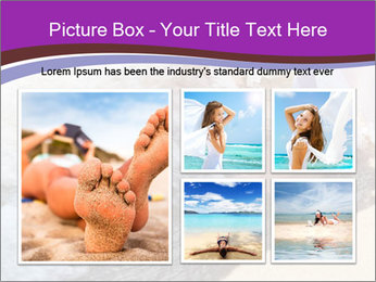Feet In The Sea PowerPoint Template - Slide 19