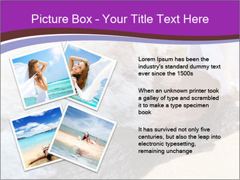 Feet In The Sea PowerPoint Template - Slide 23
