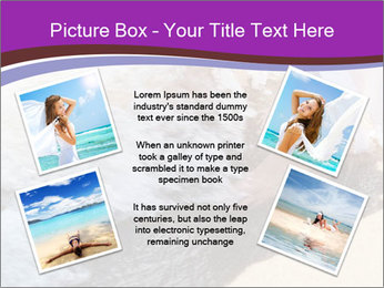 Feet In The Sea PowerPoint Templates - Slide 24