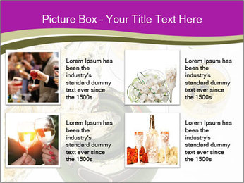 Celebration With Champagne PowerPoint Template - Slide 14