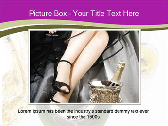 Celebration With Champagne PowerPoint Template - Slide 16
