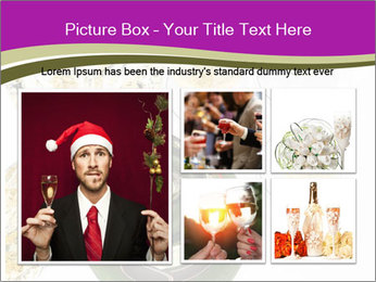 Celebration With Champagne PowerPoint Template - Slide 19