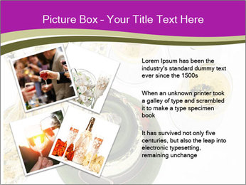 Celebration With Champagne PowerPoint Template - Slide 23