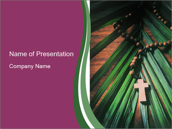 Holy Cross PowerPoint Templates - Slide 1