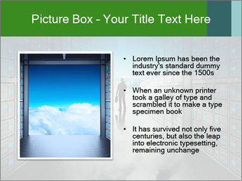 Database Corridor PowerPoint Templates - Slide 13