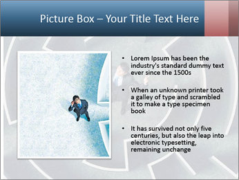 Maze Confusion PowerPoint Template - Slide 13