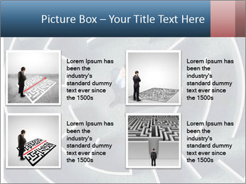 Maze Confusion PowerPoint Template - Slide 14