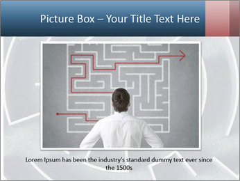 Maze Confusion PowerPoint Template - Slide 15
