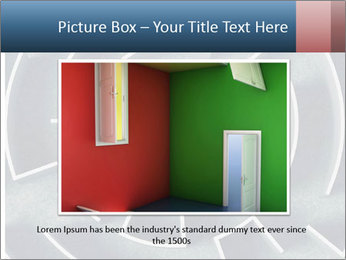 Maze Confusion PowerPoint Template - Slide 16