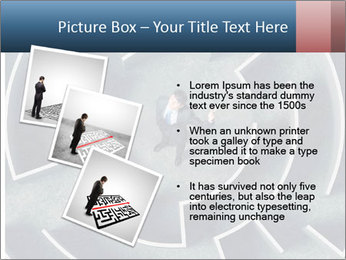 Maze Confusion PowerPoint Template - Slide 17