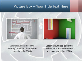 Maze Confusion PowerPoint Template - Slide 18