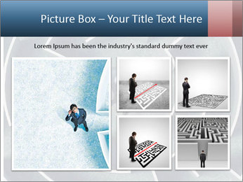 Maze Confusion PowerPoint Template - Slide 19