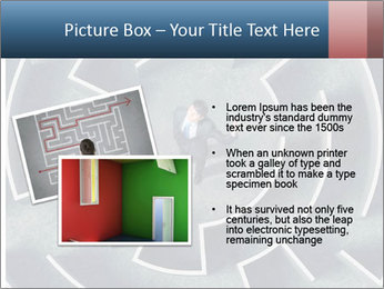 Maze Confusion PowerPoint Template - Slide 20