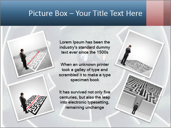 Maze Confusion PowerPoint Template - Slide 24