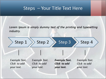 Maze Confusion PowerPoint Template - Slide 4