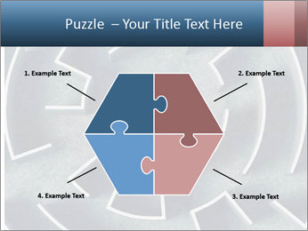 Maze Confusion PowerPoint Template - Slide 40