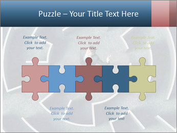 Maze Confusion PowerPoint Template - Slide 41