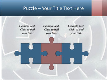 Maze Confusion PowerPoint Template - Slide 42