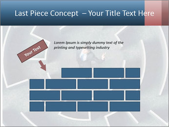 Maze Confusion PowerPoint Template - Slide 46