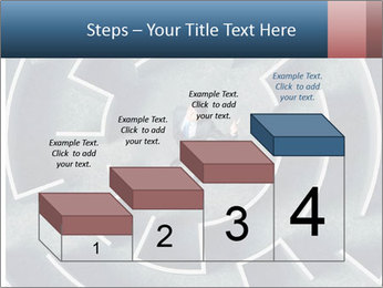 Maze Confusion PowerPoint Template - Slide 64
