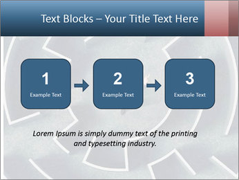 Maze Confusion PowerPoint Template - Slide 71